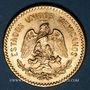 Coins Mexique. République. 10 pesos 1959. (PTL 900‰.  8,33 g)