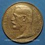 Coins Monaco. Albert I (1899-1922). 100 francs 1891A. (PTL 900‰. 32,258 g)