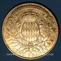 Coins Monaco. Albert I (1899-1922). 100 francs 1896 A. (PTL 900‰. 32,258 g)