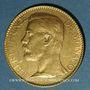 Coins Monaco. Albert I (1899-1922). 100 francs 1901 A. (PTL 900‰. 32,25 g)
