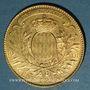Coins Monaco. Albert I (1899-1922). 100 francs 1901A. (PTL 900‰. 32,25 g)