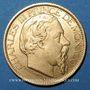 Coins Monaco. Charles III (1856-1889). 100 francs 1886A. (PTL 900‰. 32,258 g)