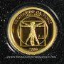 Coins Mongolie. République. 500 tugrik 2006 (PTL 999‰. 0,5 g)
