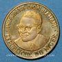 Coins Niger. 10 francs 1960. Indépendance.  (PTL 900‰. 4,20 g)