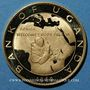 Coins Ouganda. République. 100 shillings 1969. (PTL 900‰. 13,82 g)