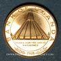 Coins Ouganda. République. 50 shillings 1969. Visite du Pape Paul VI. (PTL 900‰. 6,91 g)