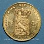 Coins Pays-Bas. Guillaume III (1849-1890). 10 florins 1877. 900 /1000. 6,72 gr.