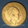 Coins Pays Bas. Wilhelmine (1890-1948). 10 florins (= 10 gulden) 1927. (PTL 900‰. 6,72 g)