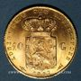 Coins Pays Bas. Wilhelmine (1890-1948). 10 florins 1897. (PTL 900‰. 6,72 g)