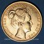 Coins Pays Bas. Wilhelmine (1890-1948). 10 florins 1898. (PTL 900‰. 6,72 g)