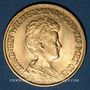 Coins Pays Bas. Wilhelmine (1890-1948). 10 florins 1917. (PTL 900‰. 6,72 g)