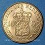 Coins Pays Bas. Wilhelmine (1890-1948). 10 florins 1925. (PTL 900‰. 6,72 g)