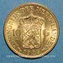 Coins Pays Bas. Wilhelmine (1890-1948). 10 florins 1926. 900 /1000. 6,72 gr