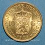 Coins Pays Bas. Wilhelmine (1890-1948). 10 florins 1926. (PTL 900‰. 6,72 g)
