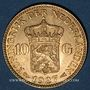 Coins Pays Bas. Wilhelmine (1890-1948). 10 florins 1927. (PTL 900‰. 6,72 g)