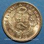 Coins Perou. République. 10 soles 1965. (PTL 900‰. 4,607 g)