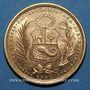 Coins Perou. République. 50 soles 1959. (PTL 900‰. 23,4056 g)
