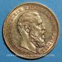 Coins Prusse. Frédéric III (1888). 10 mark 1888 A. (PTL 900‰. 3,98 g)