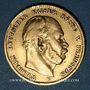 Coins Prusse. Guillaume I (1861-1888). 10 mark 1872 B. (PTL 900‰. 3,98 g)