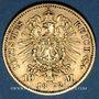 Coins Prusse. Guillaume I (1861-1888). 10 mark 1872 C. (PTL 900‰. 3,98 g)