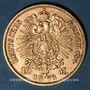 Coins Prusse. Guillaume I (1861-1888). 10 mark 1873 C. (PTL 900‰. 3,98 g)