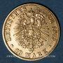 Coins Prusse. Guillaume I (1861-1888). 10 mark 1875 C. (PTL 900‰. 3,98 g)