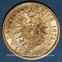 Coins Prusse. Guillaume I (1861-1888). 10 mark 1875A. (PTL 900/1000. 3,98 g)