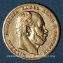 Coins Prusse. Guillaume I (1861-1888). 10 mark 1875C. (PTL 900/1000. 3,98 g)