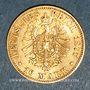Coins Prusse. Guillaume I (1861-1888). 10 mark 1877A. (PTL 900/1000. 3,98 g)