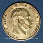 Coins Prusse. Guillaume I (1861-1888). 10 mark 1878A. (PTL 900/1000. 3,98 g)