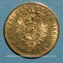 Coins Prusse. Guillaume I (1861-1888). 10 mark 1880 A. (PTL 900‰. 3,98 g)