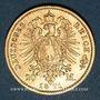 Coins Prusse. Guillaume I (1861-1888). 20 mark 1871A. (PTL 900/1000. 7,96 g)