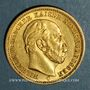 Coins Prusse. Guillaume I (1861-1888). 20 mark 1872 C. (PTL 900‰. 7,96 g)