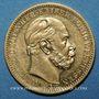 Coins Prusse. Guillaume I (1861-1888). 20 mark 1872A. (PTL 900/1000. 7,96 g)