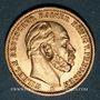 Coins Prusse. Guillaume I (1861-1888). 20 mark 1873B. (PTL 900/1000. 7,96 g)