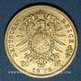 Coins Prusse. Guillaume I (1861-1888). 20 mark 1873C. 900 /1000. 7,96 gr