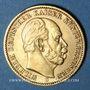 Coins Prusse. Guillaume I (1861-1888). 20 mark 1873C. (PTL 900/1000. 7,96 g)