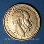 Coins Prusse. Guillaume I (1861-1888). 20 mark 1875A. (PTL 900/1000. 7,96 g)