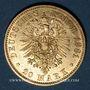 Coins Prusse. Guillaume I (1861-1888). 20 mark 1881 A. (PTL 900‰. 7,96 g)