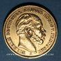 Coins Prusse. Guillaume I (1861-1888). 20 mark 1883 A. (PTL 900‰. 7,96 g)
