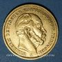 Coins Prusse. Guillaume I (1861-1888). 20 mark 1883A. 900 /1000. 7,96 gr