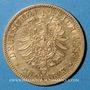 Coins Prusse. Guillaume I (1861-1888). 20 mark 1883A. (PTL 900/1000. 7,96 g)