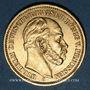 Coins Prusse. Guillaume I (1861-1888). 20 mark 1886A. (PTL 900/1000. 7,96 g)