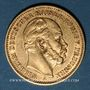 Coins Prusse. Guillaume I (1861-1888). 20 mark 1887 A. (PTL 900‰. 7,96 g)