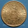 Coins Prusse. Guillaume I (1861-1888). 20 mark 1887A. (PTL 900/1000. 7,96 g)