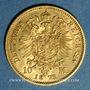 Coins Prusse. Guillaume I (1861-1988). 10 mark 1873A. (PTL 900/1000. 3,98 g)