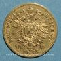Coins Prusse. Guillaume I (1861-1988). 10 mark 1873B. (PTL900/1000. 3,98 g)