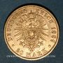 Coins Prusse. Guillaume II (1888-1918). 20 mark 1889 A. (PTL 900‰. 7,96 g)