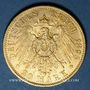 Coins Prusse. Guillaume II (1888-1918). 20 mark 1895A. (PTL900/1000. 7,96 g)