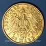 Coins Prusse. Guillaume II (1888-1918). 20 mark 1902A. 900 /1000. 7,96 gr